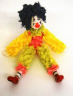 Clown model cake topper